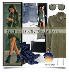 """""""Kendall Jenner"""" by goreti ❤ liked on Polyvore featuring Part Two, Alexander Wang, Fendi, 3.1 Phillip Lim, Le Specs, Get and CelebrityStyle"""