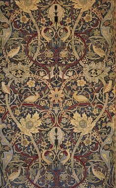 William Morris designed this - and I adore William Morris!  Bringing craftsmanship and beauty to our homes - what a beautiful world that would be!