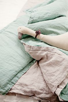 Handmade Linen Children's Bedding | Lapetitealice on Etsy