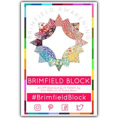 This is a pre-sale. This item will not ship until November This is an English Paper Piecing (EPP) pattern to create the Brimfield Block Quilt. Applique Quilt Patterns, Pattern Blocks, Brimfield Antique Show, Stash Fabrics, Quilt Sizes, English Paper Piecing, Modern Fabric, Quilt Blocks, Awakening