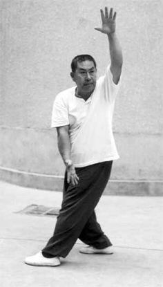 """Zhi Tian Cha Di - """"Point to Heaven, Pierce Earth."""" One of the Xiao Ba Zhang (Little 8 Palms). From The Pa Kua Chang Journal - The Circle Walk Practice of Ba Gua Zhang"""