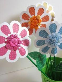 floral embellishments cricut ideas | cricut flowers