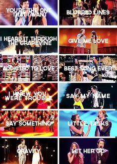 Alex & Sierra, their audition song 'Toxic' missing from this list. All of their covers were so good <3 I love them!