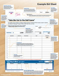 silent auction bid sheet template printable silent auction bid forms