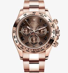 ROLEX DAYTONA EVEROSE GOLD CHOCOLATE ARABIC | Luxify | Luxury Within Reach