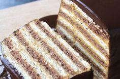 Rychlý nepečený dort se salkovým krémem připraven za 15 minut | NejRecept.cz