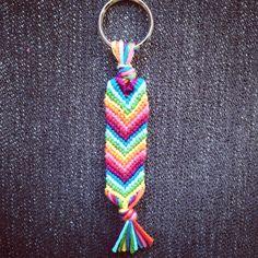 Handgjord nyckelring