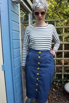 Molly Top and Erin Skirt from Sew Over It's My Capsule Wardrobe: City Break sewing pattern eBook. Get the eBook here: http://sewoverit.co.uk/product/capsule-wardrobe-city-break-ebook/