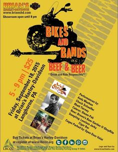 Bikes and Bands, Beef & Beer