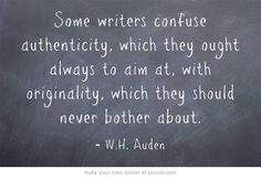 Seems like more and more 'modern' writers are failing to heed this great advice...