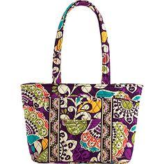 Vera Bradley Mandy Plum Crazy - Vera Bradley Fabric Handbags from Yvonne's Expensive Purses, Fabric Handbags, Mk Bags, Tote Bags, Tote Purse, Pack Your Bags, Unique Purses, Travel Tote, Vera Bradley