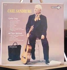 Carl Sandburg Lp Cowboy Songs Near Mint #AlternativeCountryAmericanaContemporaryCountryCountryPopCowboyCountryEarlyCountryTraditionalCountryWesternSwing