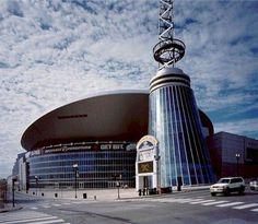 Bridgestone Arena - home of the Predators and many music events  #onlyinnashville