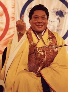 Chogyam Trungpa Rinpoche. www.gesarofling.co.uk
