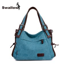 2016 Fashion Canvas Bag Women Handbag Shoulder Bags Messenger Bags Casual Blue Hobos Bolsa Feminina High Quality Large Capacity♦️ SMS - F A S H I O N  http://www.sms.hr/products/2016-fashion-canvas-bag-women-handbag-shoulder-bags-messenger-bags-casual-blue-hobos-bolsa-feminina-high-quality-large-capacity/ US $25.20