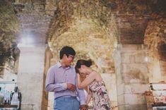 Engagement or pre-wedding shooting in Split