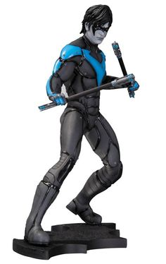 Batman Arkham City Nightwing Statue - The Movie Store