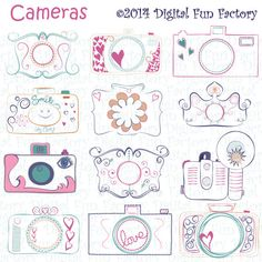 Hey, I found this really awesome Etsy listing at https://www.etsy.com/listing/207029994/camera-clip-art-cute-camera-clip-art