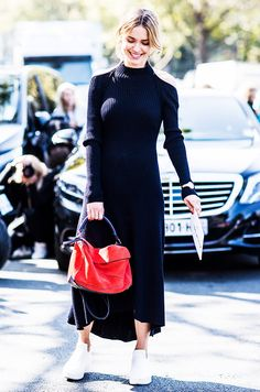 The #1 Trend That Looks Good on All Ages via @WhoWhatWear- a new spin on the classic sweater dress...