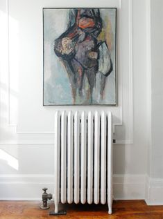 cleaning and painting radiators http://manhattan-nest.com/2012/08/28/radiator-painted/