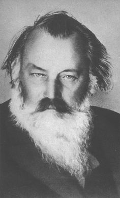 Johannes Brahms ... Thousands of pictures, none more seductive than this