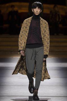 Dries Van Noten, Look #43 menswear fall 2016 #colors