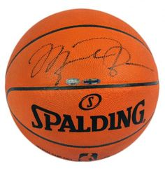 Michael Jordan Autographed Basketball - Official Game Ball #SportsMemorabilia #ChicagoBulls