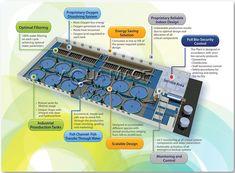 Fish indoor industrial production recirculating aquaculture system RAS intensive growing engineering design