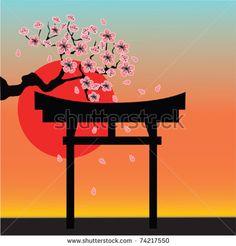 torii & sakura