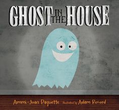 Ghost in the House (Book) : Paquette, Ammi-Joan : Slip-sliding his way through a haunted house, a little ghost is joined by a shuffling mummy, a happy little monster, and other ghoulish friends before discovering the scariest creature in the house. Halloween Stories For Kids, Halloween Books, Boy Halloween, Halloween Tricks, Halloween Scene, Ghost House, Spooky House, Best Children Books, Childrens Books