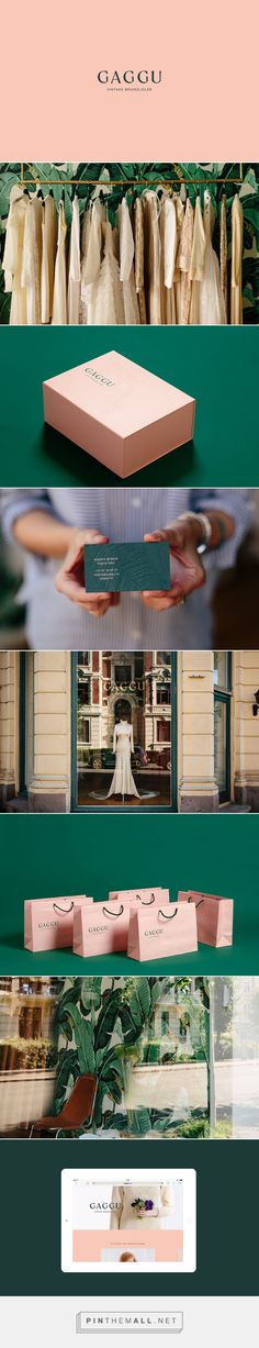 Gaggu Vintage Bridal Salon Branding by Heydays Design Agency | Fivestar Branding Agency – Design and Branding Agency & Curated Inspiration Gallery