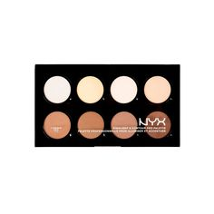 Amazing complete kit with perfect shades. Highlight & Contour Pro Palette - perfect for a beginner | NYX Cosmetics (London drugs or Rexall)