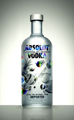 New Absolut Vodka Design