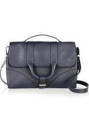 hanne leather shoulder bag