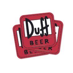 Duff Beer Sous Verres
