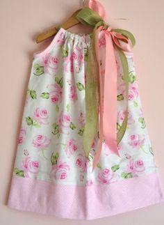 So Cute.  Pillow Case dress from Cassie's Closet