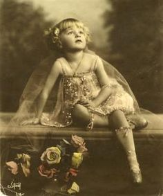 Baby Rose Louise Hovick (Gypsy Rose Lee).                    (ca. 1914)