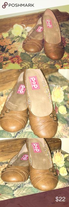 POP NELLY Memory Foam SIZE 8 EXCELLENT Condition! POP NELLY SIZE 8 Memory Foam EXCELLENT Condition! Fantastic Buy! Must Have! JELLYPOP Shoes Flats & Loafers