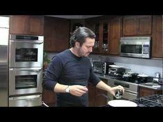 Fabio Kitchen Academy - Parmesan Eggs.  Hottest cooking video ever.