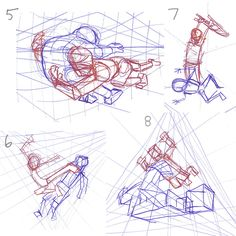 Drawing a cube in 2 point perspective Drawing a cube above or below the horizon line in 2 point perspective Using a grid for . 2 Point Perspective Drawing, Perspective Art, Figure Drawing Reference, Art Reference Poses, Comic Tutorial, Art Poses, Drawing Base, Art Tutorials, Art Drawings