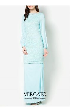DEMI CHIFFON SLEEVES LACE KURUNG