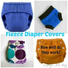 Good information on fleece diaper covers