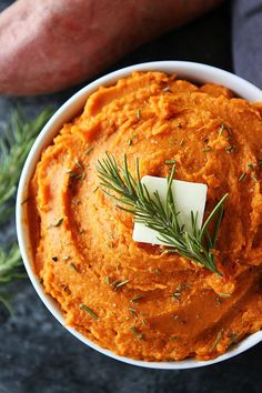 Mashed Sweet Potatoes are an easy, healthy, and delicious side dish for Thanksgiving, Christmas, or any meal.