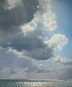 Dit plaatje past bij groep 3, omdat wolken een zachte textuur aangeven. Dit kunnen de kinderen zelf ook tekenen