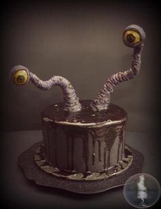 Creepy Eyes - Cake by Tonya Alvey