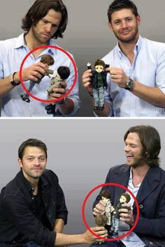 I love how intense Jared looks in the first picture.