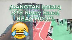 [BANGTAN BOMB] BTS Relay Race! REACTION!!!
