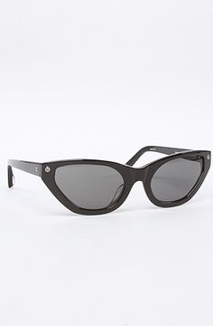 The 21 C4 Sunglasses in Black by Alexander Wang