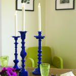 Paint mismatched candlesticks :)
