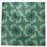 """big spin 8""""x8"""" encaustic cement tile stock   constructivist pattern"""